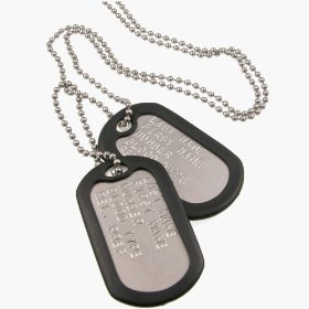 dog tag podaruk