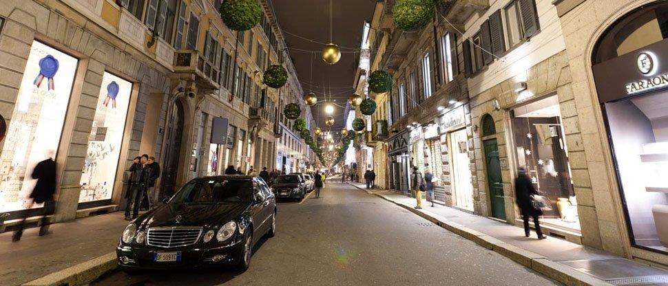 улица монтенаполеоне