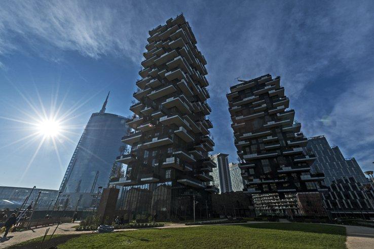 Милано-сгради