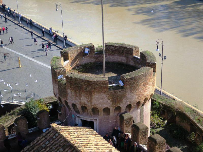 замък св.анджело рим