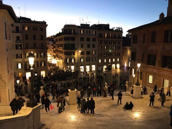 площад Испания Рим