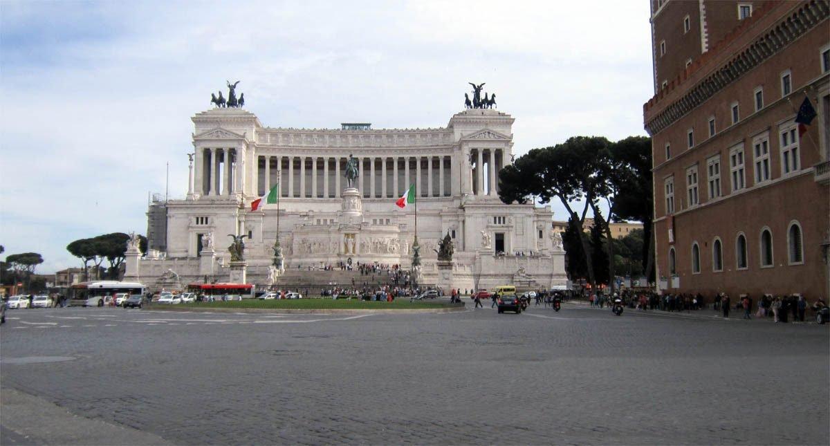 Викториано в Рим