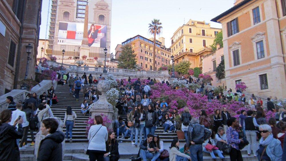 площад Испания в Рим