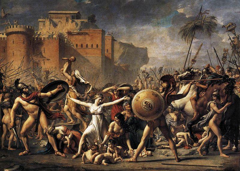 битка римляни сабини