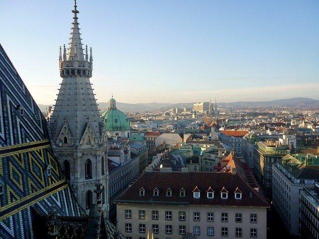 гледка от катедралата