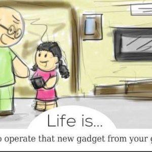 животът е ...