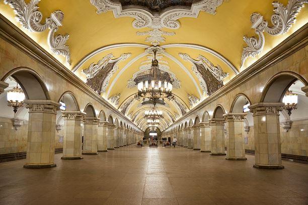 метро в Москва