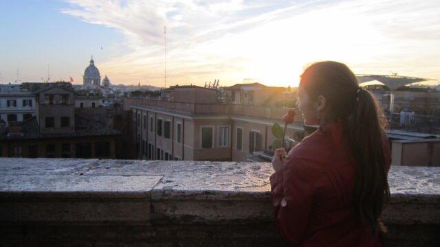 гледка от Площад Испания
