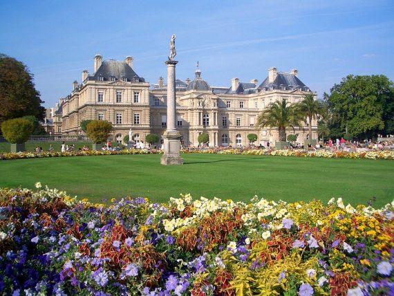 Люксембургска-градина-Париж