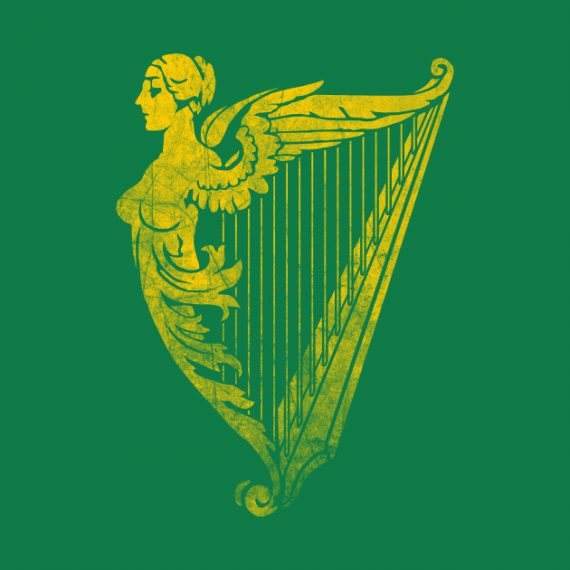 irish-symbol-celtic-harp