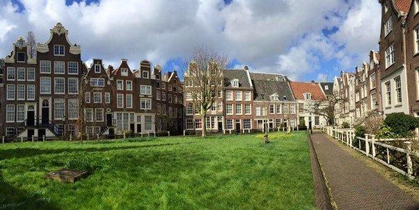 квартал Begijnhof