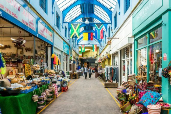 пазар Брикстън в Лондон