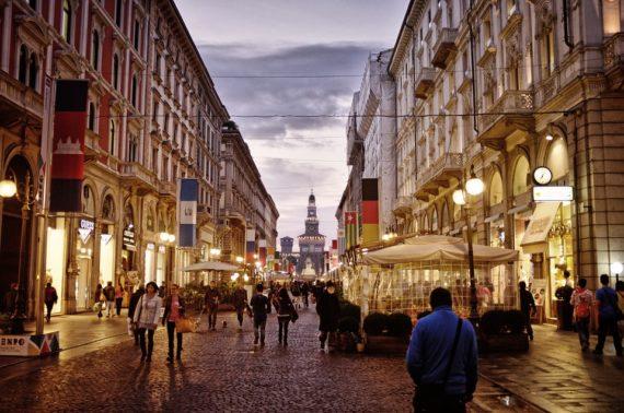 център на Милано