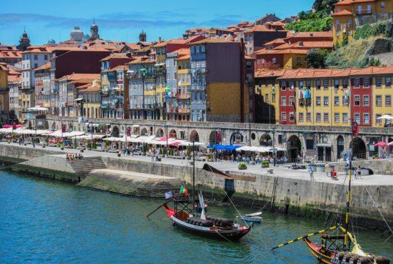речна зона Порто