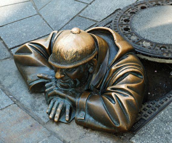Братислава статуя