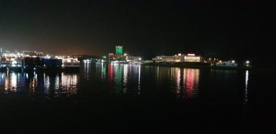 гледка от кораба