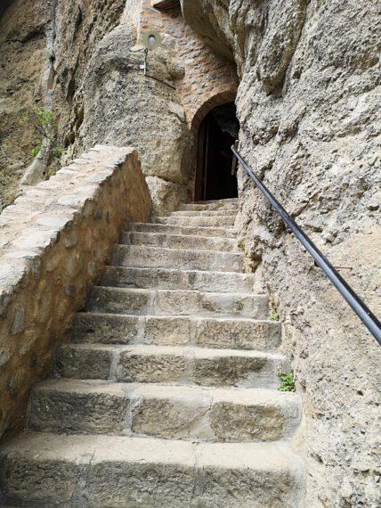 стълби към Св. Троица