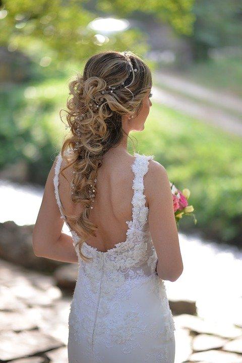 дълга сплетена коса