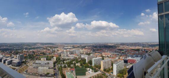 гледка от Ауреоле, Прага