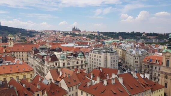 гледка от кулата на Старото Кметство