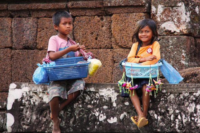 деца от Камбоджа