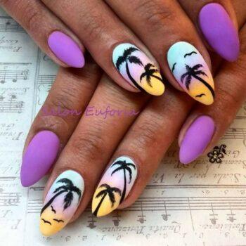 палми лилава гама