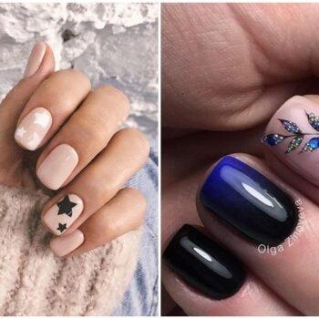 идеи за къси нокти