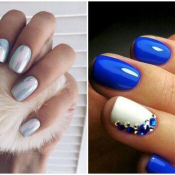 идеи за маникюр с къси нокти