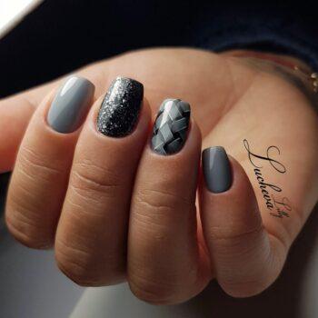 сиви красиви нокти