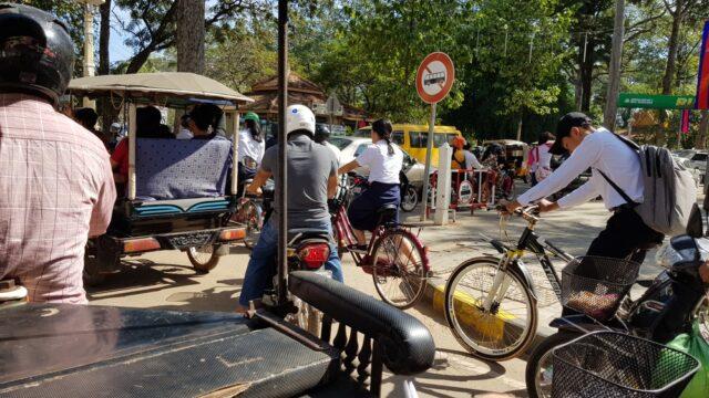 транспорт в Камбоджа