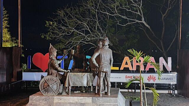 статуя в Бохол
