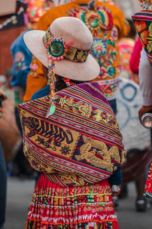 чолитас в Боливия