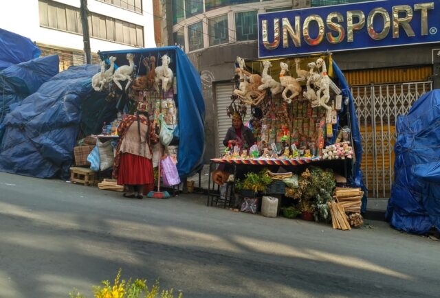 Пазар на вещиците в Ла Пас