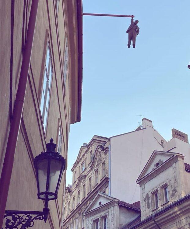 статуя на Фройд