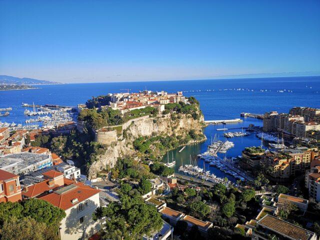 Скалата в Монако