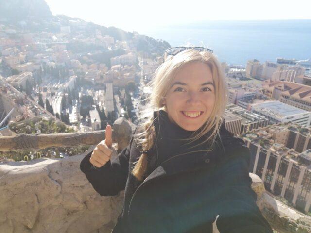 гледка от Монако