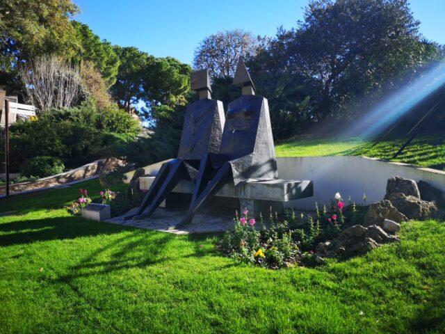 пътеката на скулптурите Монако