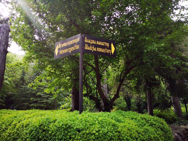 как да стигнем до Аладжа манастир