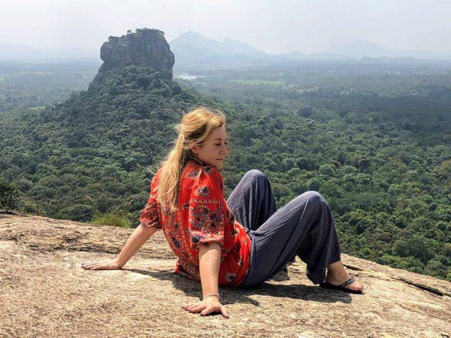 Лъвската скала в Шри Ланка