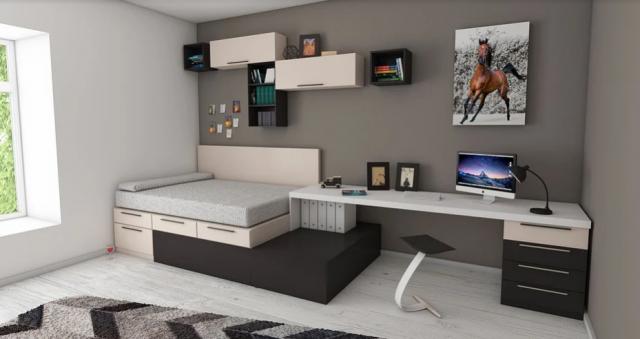 обзавеждане малък апартамент