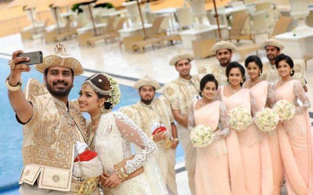 сватба Шри Ланка
