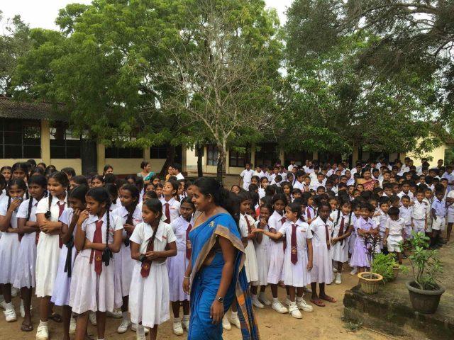 училище в Шри Ланка