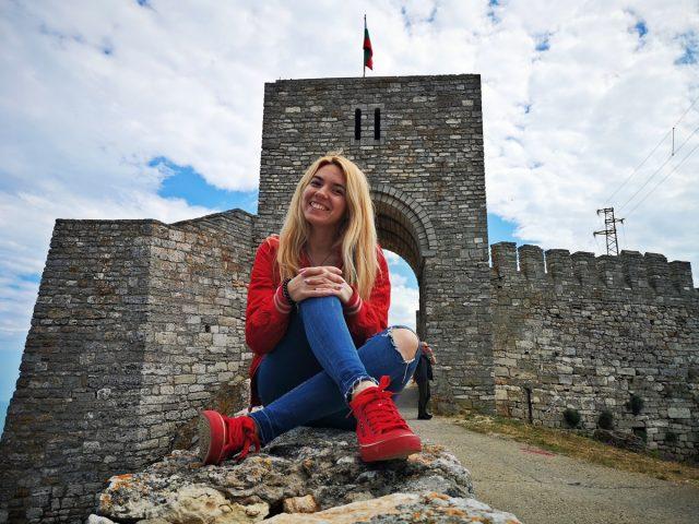 пред крепост Калиакра