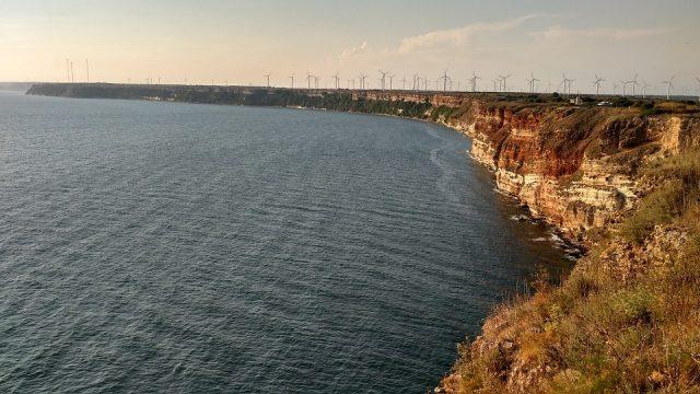 вятърни мелници край Калиакра