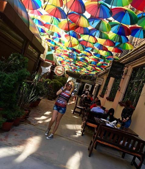 чадърите в Букурещ