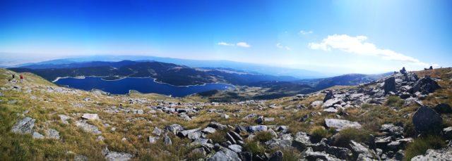 гледка към Белмекен от върха