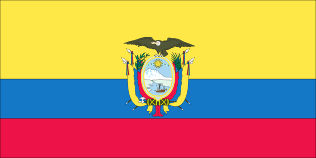 знаме на Еквадор