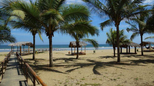 крайбрежие на Еквадор