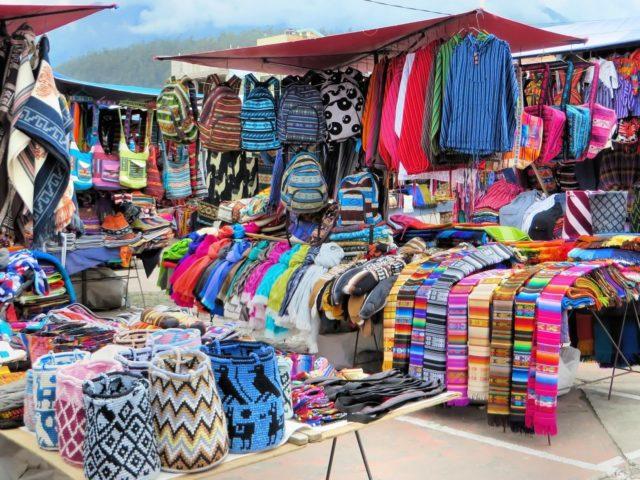 пазар в Еквадор