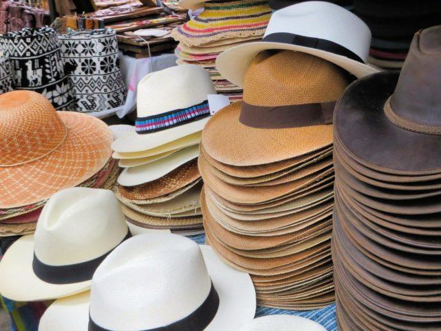 шапки в Еквадор